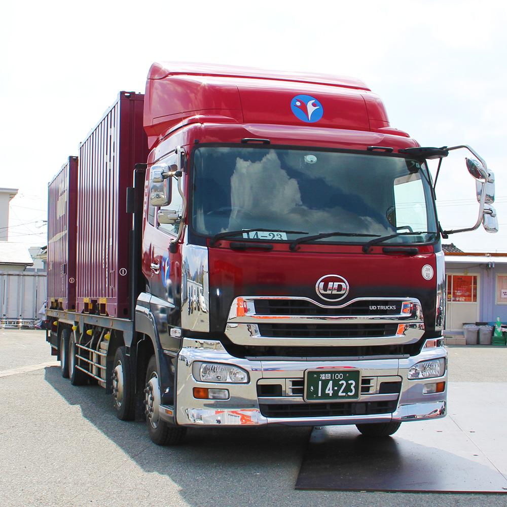 平尾運送は安全性優良事業所として、徹底した安全配送を心掛けております。