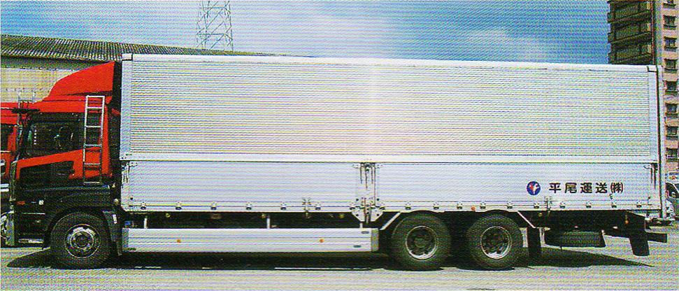 バン車(ウイング車15t・4t / 4t・2t)